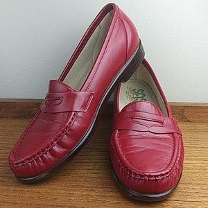 SAS Penny Loafer Slip On Shoes Size 9